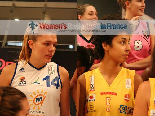 Justine Barthelemy and Vivianne Adjutor