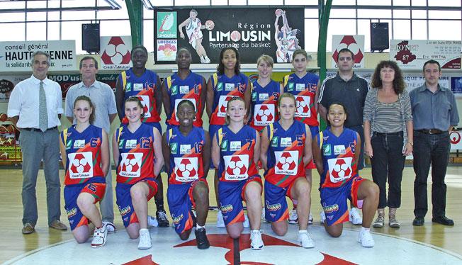 Limoges ABC en Limousin Team picture 2008_2009   © Limoges ABC en Limousin