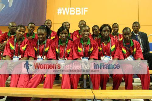 Mali U17 team at 2014 FIBA U17 championship