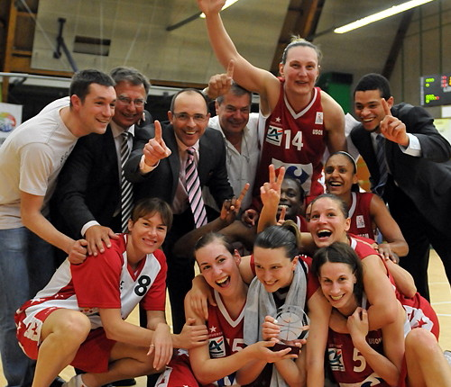 Mondeville Win LFB Challenge Round in 2009 © Romain Chaib