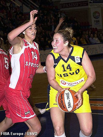 Fiba Europe  EuroLeague Women Nicole Ohlde