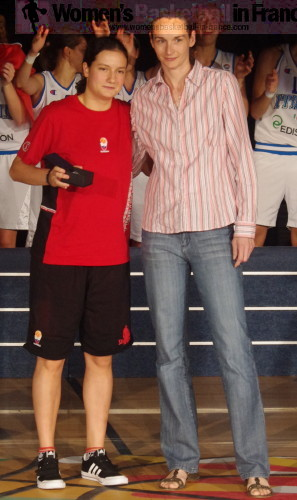Nika Baric MVP at the 2010 U18 FIBA Europe European Championship Women Division A © womensbasketball-in-france.com