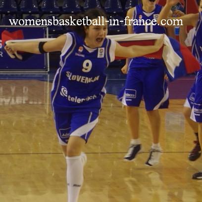 Nika Baric  © womenbasketball-in-france