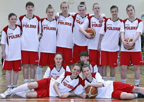 Poland U16 at the 2010 Tournoi International du Poinçonnet © Olivier Sarre