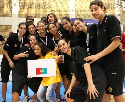 Portugal U20 in Macedonia © womensbasketball-in-france.com