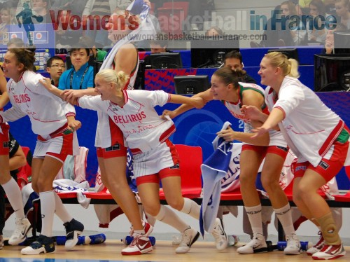 Belarus qualify to the semi-final of the  World Championship © womensbasketball-in-france.com