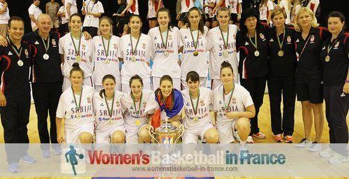 Serbia U16  - 2013 Div B champions