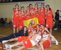 Spain U16 win 2008 edition of Poinçonnet
