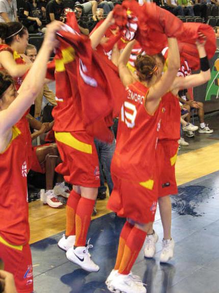 Spain go the olympics