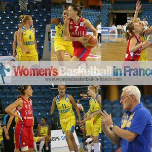 Ukraine U20 against Serbia U20 2012 European Championship - Jovana Jaksic, Nataliya Pokrovenko