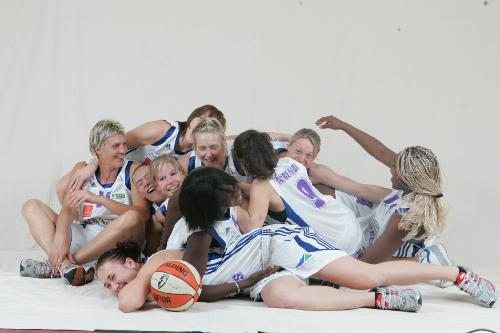 Tarbes players having fun ©  Tarbes