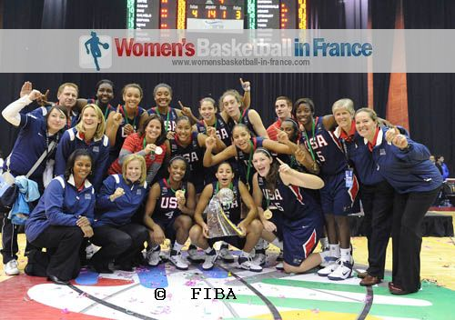 2011 FIBA U19 World championship for women winners - USA