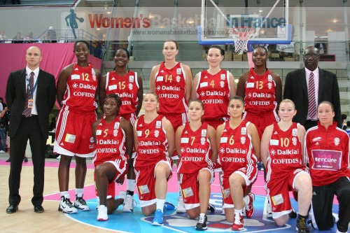 Villeneuve d'Ascq 2010-2011  © womensbasketball-in-france