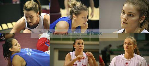 Jenna O'hea, Fleur Devillers, Aurélie Favre, Marina Markovic, Maja Vucurovic, Marine Johannes