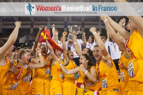 Spain are FIBA Europe2013  U20 European champions for Women  Division A