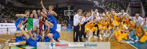 2013 U20 European Championship for Women finalist, Italy and Spain
