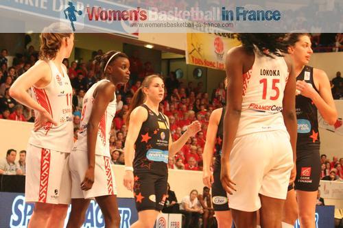 Tango Bourges Basket vs Villeneuve d;Ascq  2014 basketball French Cup Final