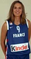 Audrey Saurey-Gillepsie (French Captain at Eurobasket 2007)
