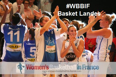 Basket Landes leading