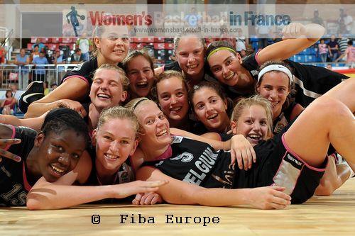 Belgium U18 players qualify for 2011 U18 European Championship final © FIBA Europe / Viktor Rébay