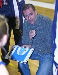 Bertrand Parvard coach of Limoges ABC © Limoges ABC