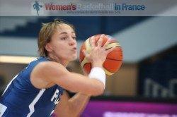 Céline Dumerc at the 2010 Fiba world Championship for women © Womensbasketball-in-france.com