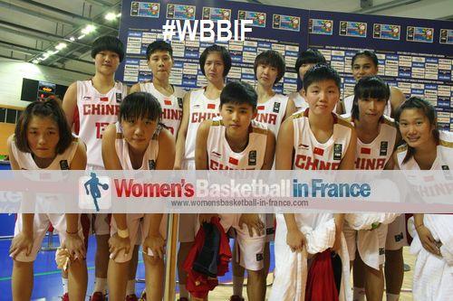 China U17 team at FIBA World Championship for Women