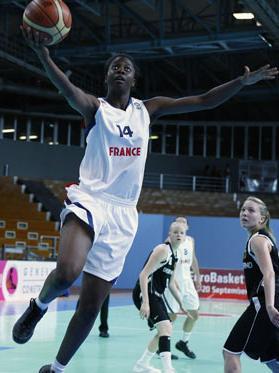 Christelle Diallo back in action © Ciamillo-Castoria