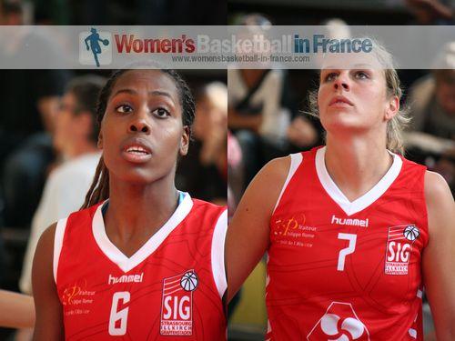 Darline Nsoki and Aline Fischbach
