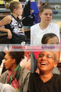 Anaïs Déas, Marie-eve Paget,Margaux Okou Zouzou and Alexandra Tchangoue,