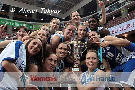 Dynamo Moscow win EuroCup Women in 2013