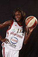 Emilie Gomis (Villeneuve d'Ascq) ©  Ligue Féminine de BasketBall