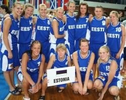 Estonia U18 in Skopje