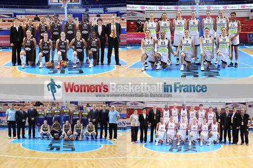 Bourges Basket, Fenerbahçe SK, Good Angels Kosice,Galatasaray MP