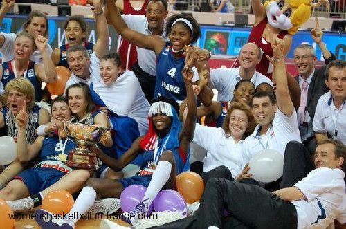 Eurobasket Women Champions 2009 France © womensbasketball-in-france.com