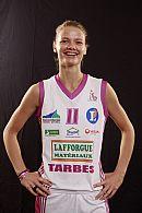 Florence Lepron (Tarbes) ©  Ligue Féminine de BasketBall