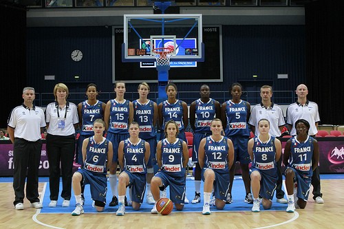 France 2010 FIBA World Championship for Women Roster © Castoria - FIBA