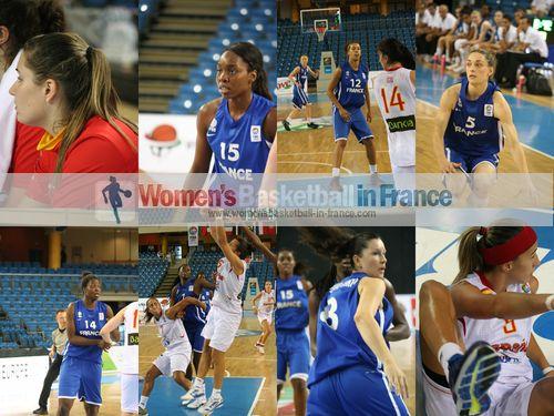 Maria Espana, Marie Mbuyamba, Jodie Cornelie, Agathe Degorces, Christelle Diallo, Margaux Galliou-Loko, Queralt Casas