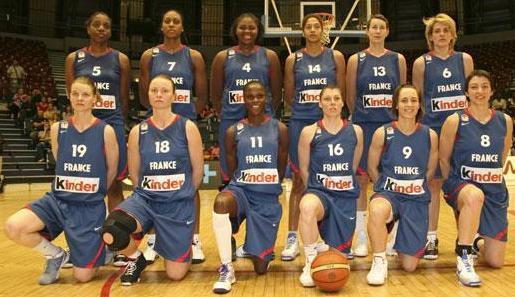 France Women 2009 International Basketball squad ©  Ann Dee Lamour