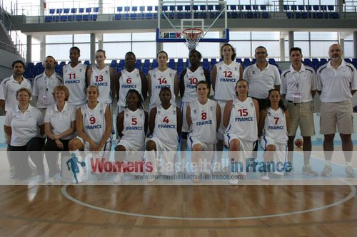 France U20 women basketball team  © womensbasketball-in-france.com