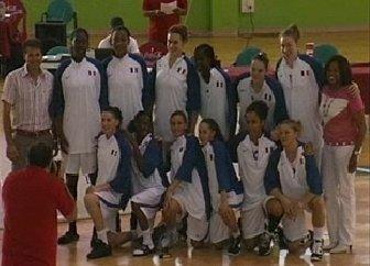 2010 France U20 squad  in Lanzarote  © baloncestolanzarote.com
