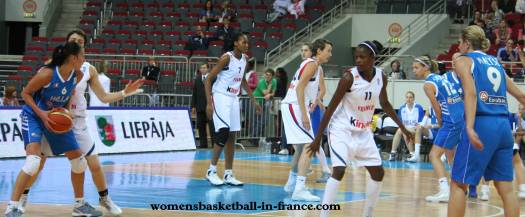 France Greece at EuroBasket 2009; womensbasketball-in-france.com