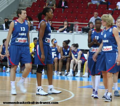 French players at EuroBasket Women 2009 © womensbasketball-in-france.com