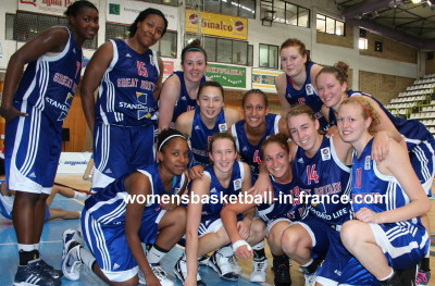 Great Britain already in quarter-final  © womensbasketball-in-france.com