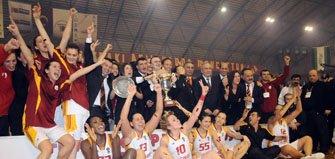 Galatasaray EuroCup Women 2009 Champions