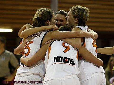 Gambrinus on thier way to EuroLeague Women Final Four 2008