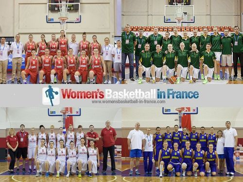2013 U20 Division A Classification Round - Group G Teams  Hungary, Lithuania, Poland and Ukraine