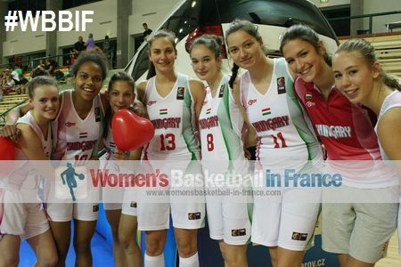 Hungary U17 qualify for FIBA U17 World Championship for Women semi-final