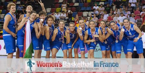 Italy U20 2013  - Content with Silver medal
