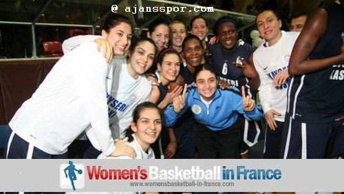 Kayseri Kaskispor's players facing the camera © ajansspo.com